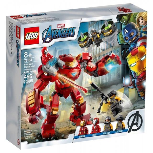 Obrázek produktu LEGO SUPER HEROES 76164 Iron Man Hulkbuster proti agentovi A.I.M.