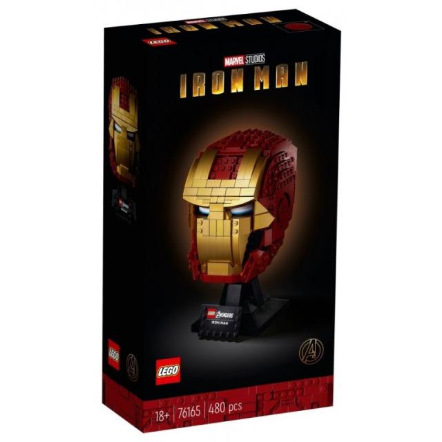 Obrázek produktu LEGO SUPER HEROES 76165 Iron Manova helma