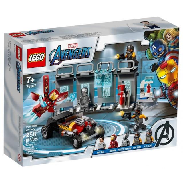 Obrázek produktu LEGO SUPER HEROES 76167 Zbrojnice Iron Mana