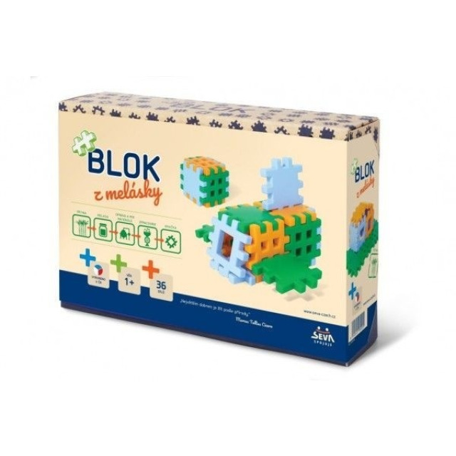 Obrázek produktu SEVA Blok z melásky 36 dílků