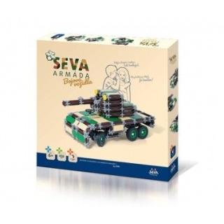 Obrázek 1 produktu SEVA Armáda Bojová vozidla 436 dílků