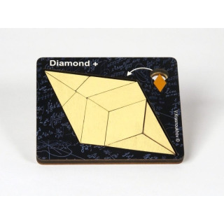 Obrázek 1 produktu RECENTTOYS Diamond+ dřevěný hlavolam