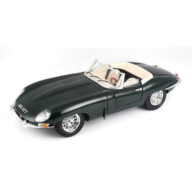 Obrázek produktu Burago JAGUAR E-type Cabriolet zelené 1:18