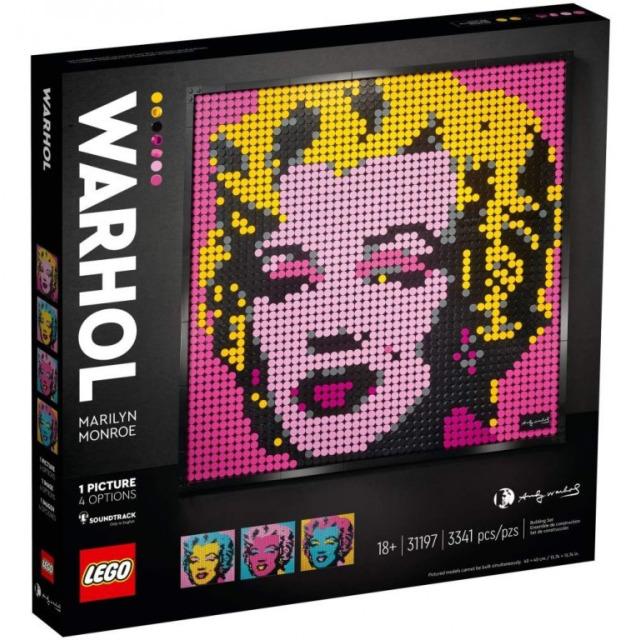 Obrázek produktu LEGO Art 31197 Andy Warhol's Marilyn Monroe