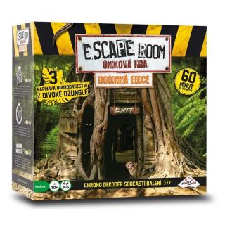 Obrázek 1 produktu ESCAPE ROOM úniková hra Rodinná edice 3 scénáře