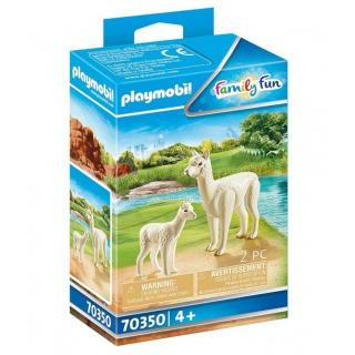 Obrázek 1 produktu Playmobil 70350 Alpaka s mládětem