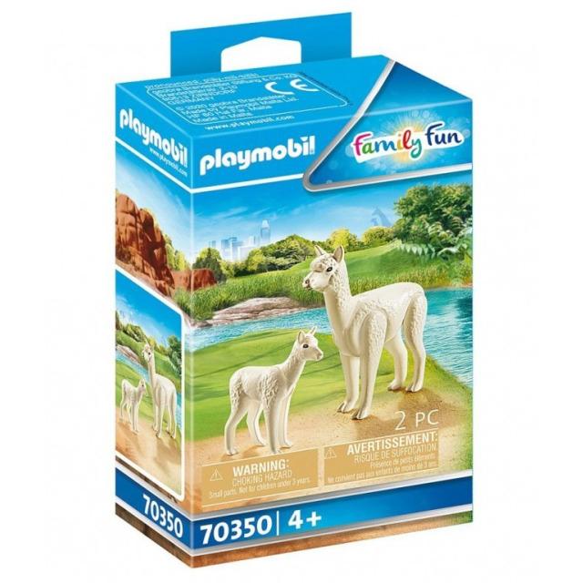Obrázek produktu Playmobil 70350 Alpaka s mládětem