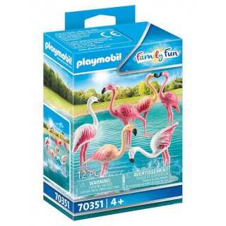 Obrázek 1 produktu Playmobil 70351 Plameňáci