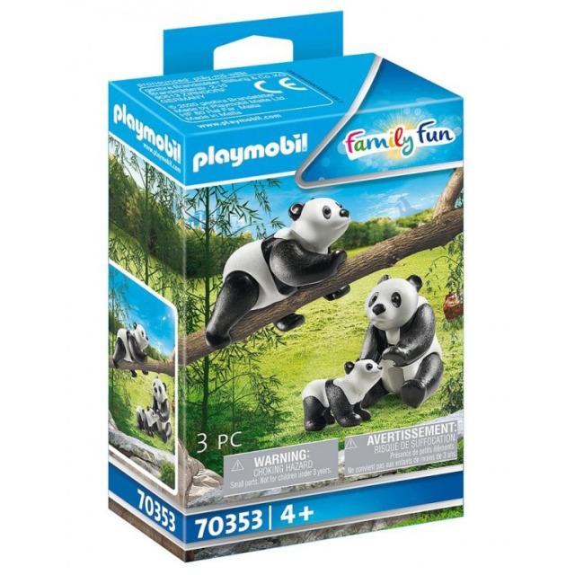 Obrázek produktu Playmobil 70353 Pandy velké s mládětem