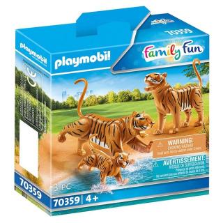Obrázek 1 produktu Playmobil 70359 Tygři s mládětem