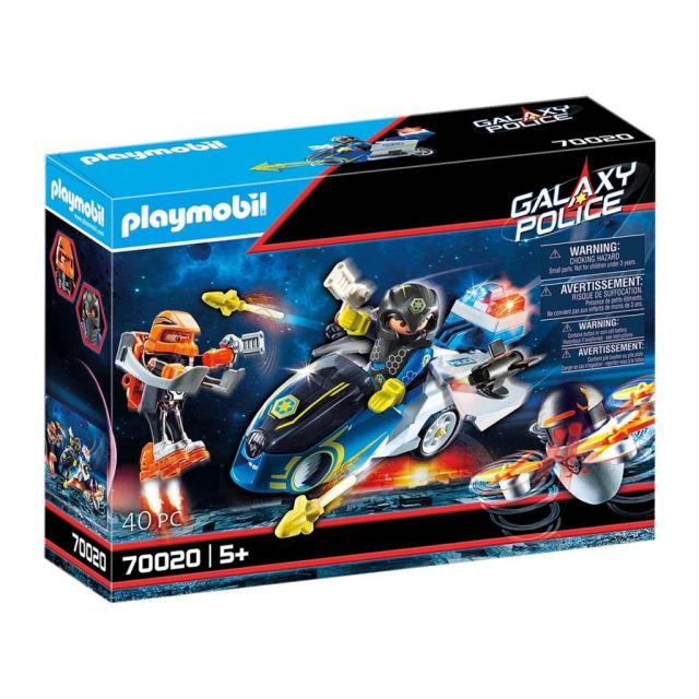 Obrázek produktu Playmobil 70020 Vesmírná policie - Motorka