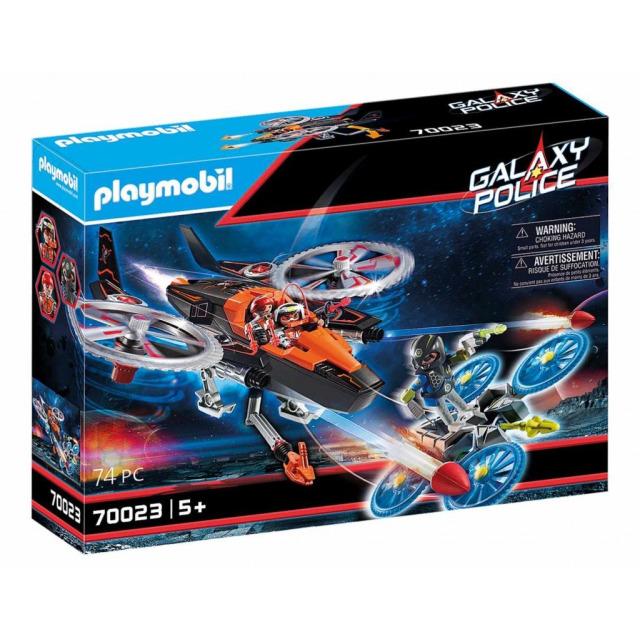 Obrázek produktu Playmobil 70023 Vesmírní piráti - Helikoptéra