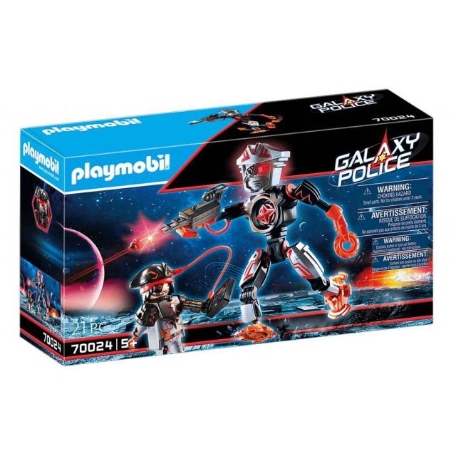 Obrázek produktu Playmobil 70024 Vesmírní piráti - Robot