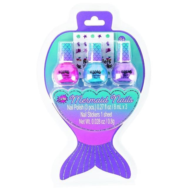 Obrázek produktu Make It Real Laky na nehty - Mořská panna
