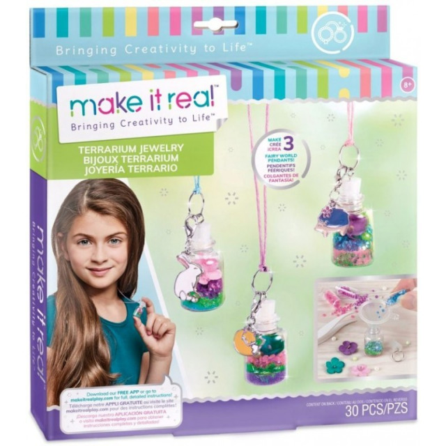 Obrázek produktu Make It Real Náhrdelník s lahvičkou na vzpomínky