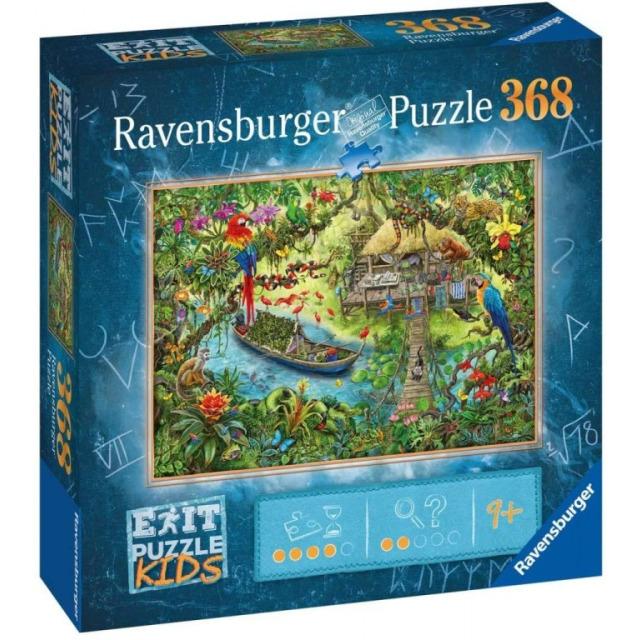 Obrázek produktu Ravensburger 12924 Exit Puzzle: Džungle 368 dílků