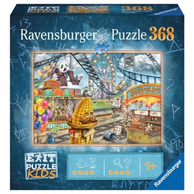 Obrázek produktu Ravensburger 12926 Exit Puzzle: Zábavní park 368 dílků