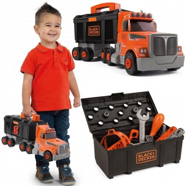 Obrázek produktu Black & Decker Kamion s nářadím, Smoby
