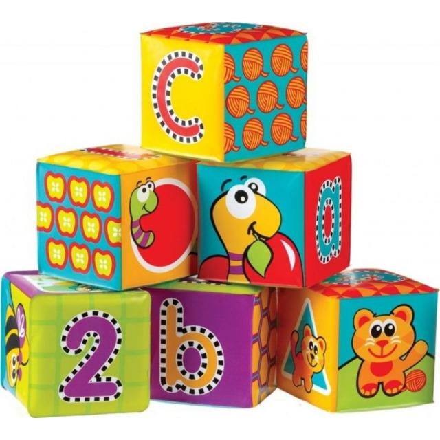 Obrázek produktu PlayGro Měkké pěnové kostky nové 6ks