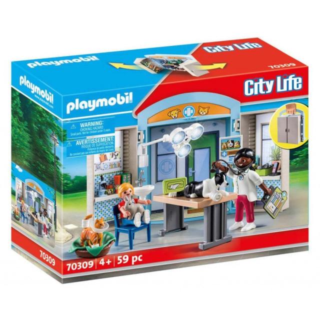 Obrázek produktu Playmobil 70309 Herní box U veterináře
