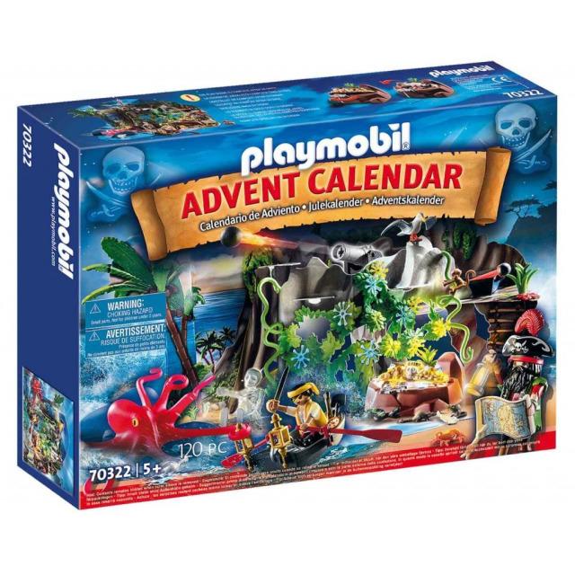 Obrázek produktu Playmobil 70322 Adventní kalendář Piráti