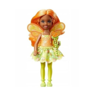 Obrázek 1 produktu Mattel Barbie Dreamtopia Víla Chelsea oranžová, DVM89