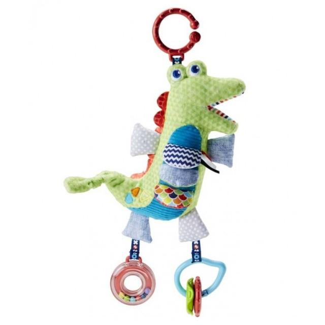 Obrázek produktu Fisher Price Měkkoučký krokodýlek s aktivitami, Mattel FDC57