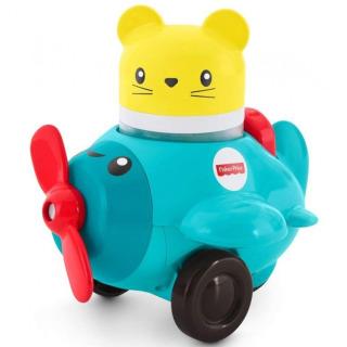 Obrázek 1 produktu Fisher Price Chrastící vozítka Modré letadýlko, Mattel FVC72