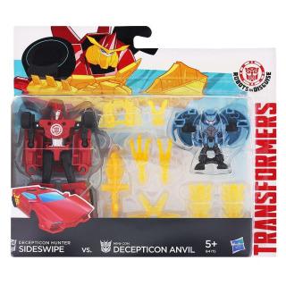 Obrázek 1 produktu Transformers Decepticon Sideswipe vs. Mini-Con Decepticon Anvil, Hasbro E4715