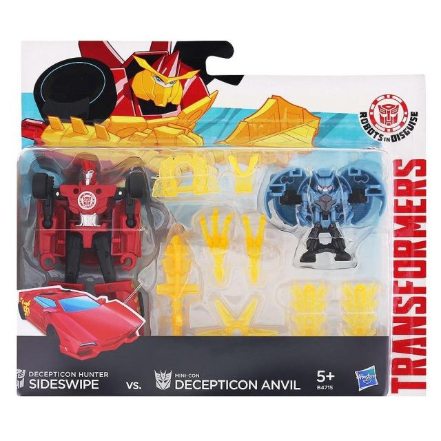Obrázek produktu Transformers Decepticon Sideswipe vs. Mini-Con Decepticon Anvil, Hasbro E4715