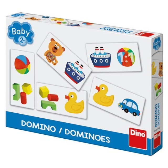 Obrázek produktu Dino Baby domino obrázkové hračky