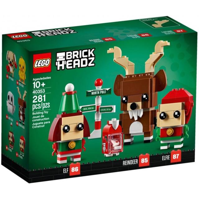 Obrázek produktu LEGO BrickHeadz 40353 Sob, Elf a Elfka