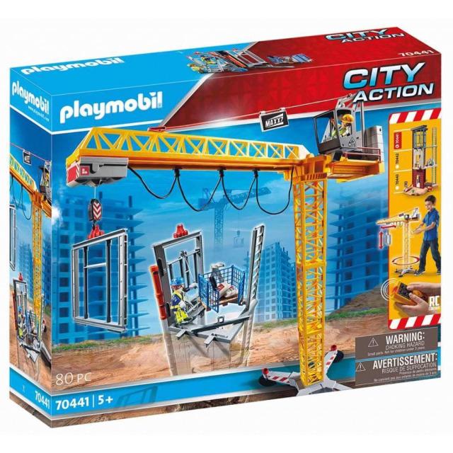 Obrázek produktu Playmobil 70441 Stavební jeřáb na dálkové ovládání