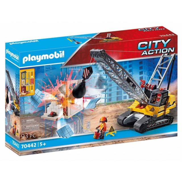 Obrázek produktu Playmobil 70442 Pásový jeřáb