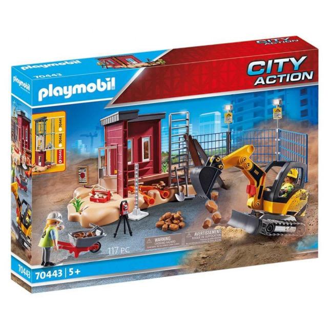 Obrázek produktu Playmobil 70443 Minibagr