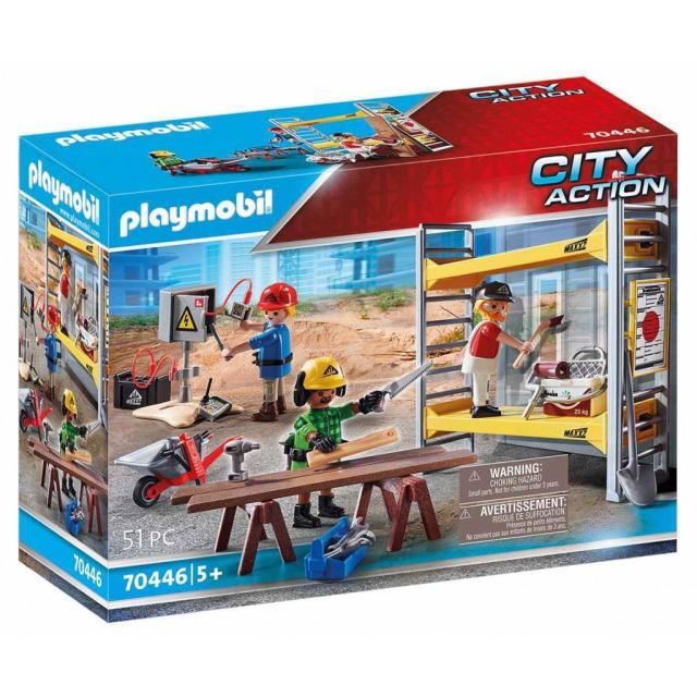 Obrázek produktu Playmobil 70446 Lešení s řemeslníky