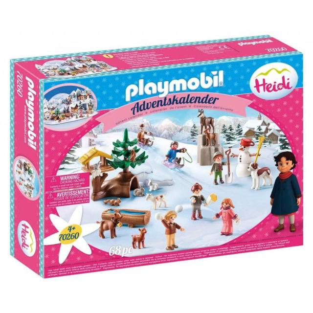 Obrázek produktu Playmobil 70260 Adventní kalendář Heidi