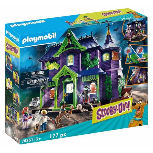 Obrázek produktu Playmobil 70361 SCOOBY-DOO! Dobrodružství ve Strašidelném domě