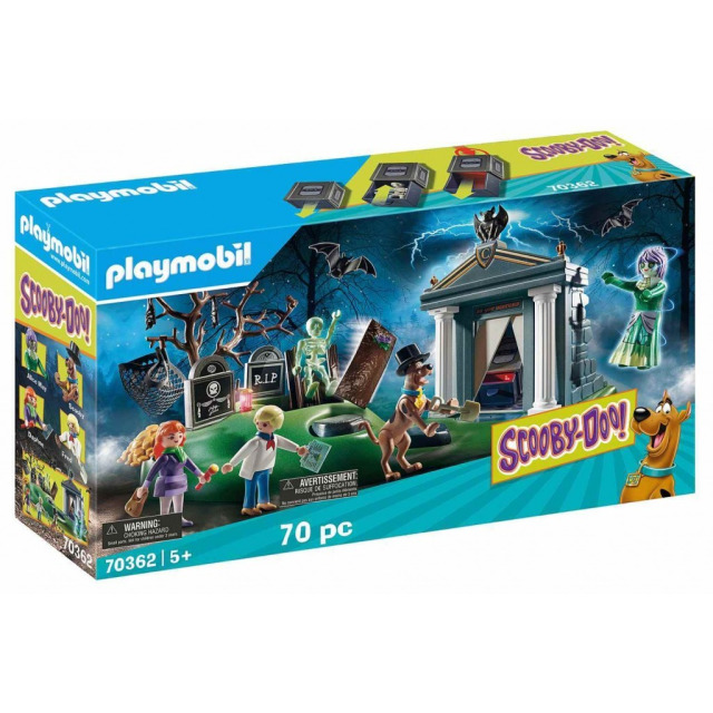 Obrázek produktu Playmobil 70362 SCOOBY-DOO! Dobrodružství na hřbitově