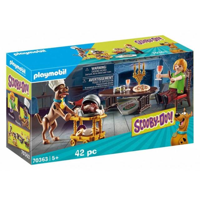 Obrázek produktu Playmobil 70363 SCOOBY-DOO! Večeře se Shaggym