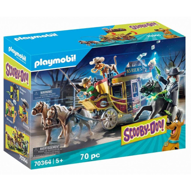 Obrázek produktu Playmobil 70364 SCOOBY-DOO! Dobrodružství na divokém západě