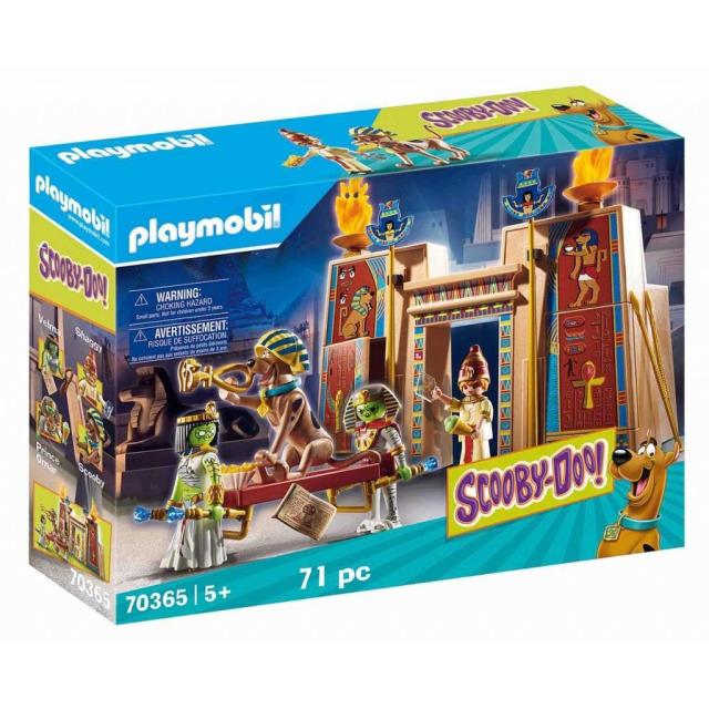 Obrázek produktu Playmobil 70365 SCOOBY-DOO! Dobrodružství v Egyptě