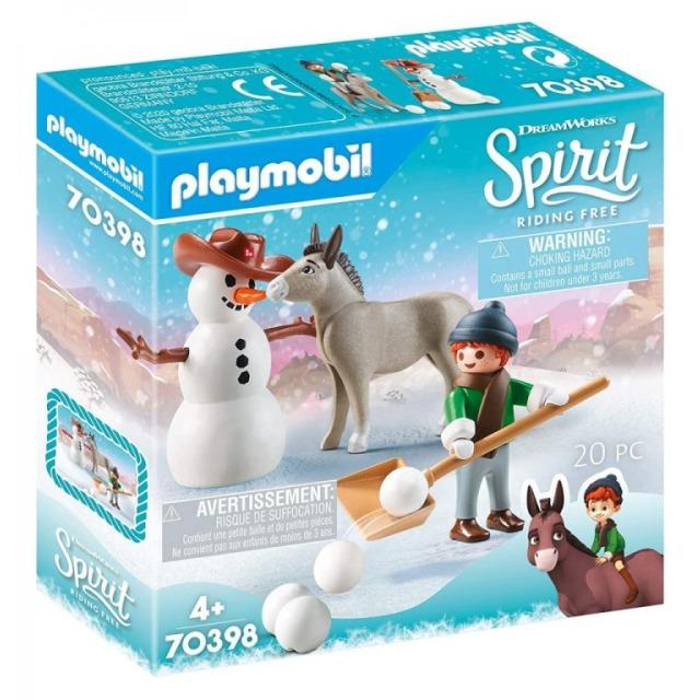 Obrázek produktu Playmobil 70398 Radost ze sněhu se Šmikem a Seňorem Mrkvičkou