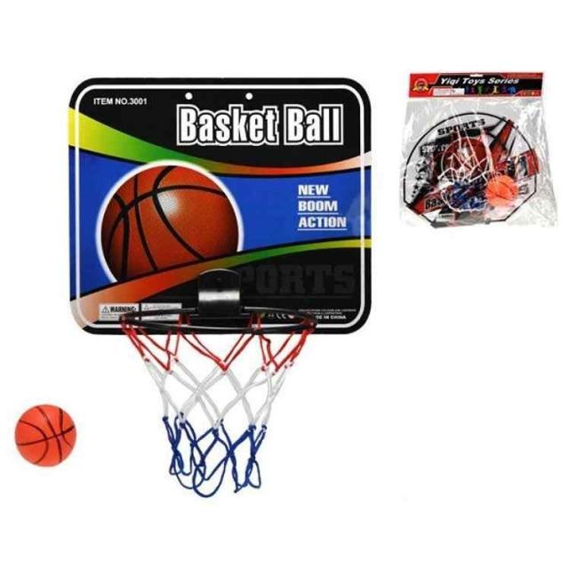 Obrázek produktu Basketbalový koš 40 x 32 cm s míčem