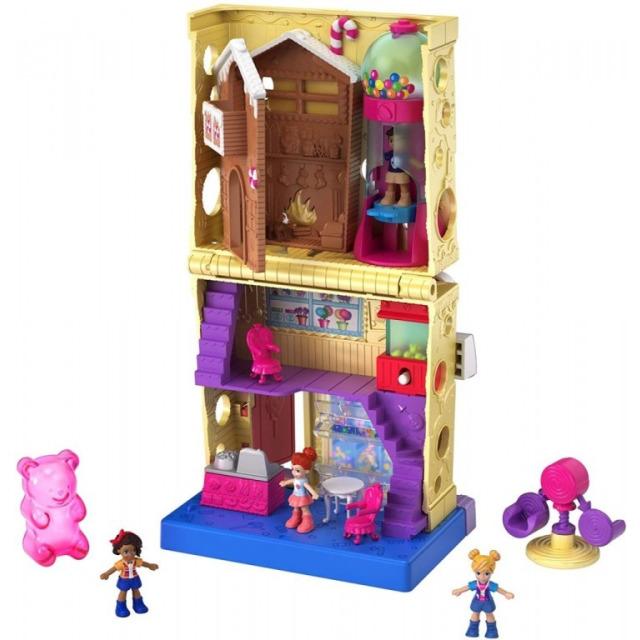 Obrázek produktu Mattel Polly Pocket Cukrárna v PollyVille, GKL57