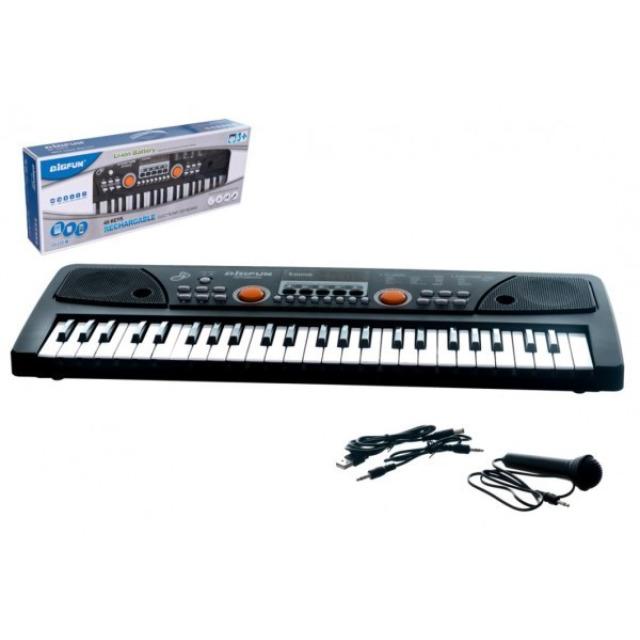 Obrázek produktu Bigfun Piano s mikrofónem, 49 kláves