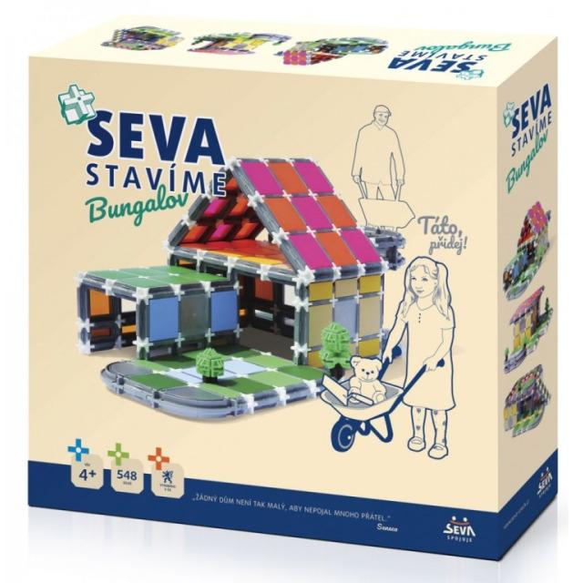 Obrázek produktu SEVA Stavíme Bungalov 548 dílků