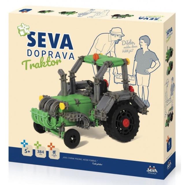 Obrázek produktu SEVA Doprava Traktor 384 dílků