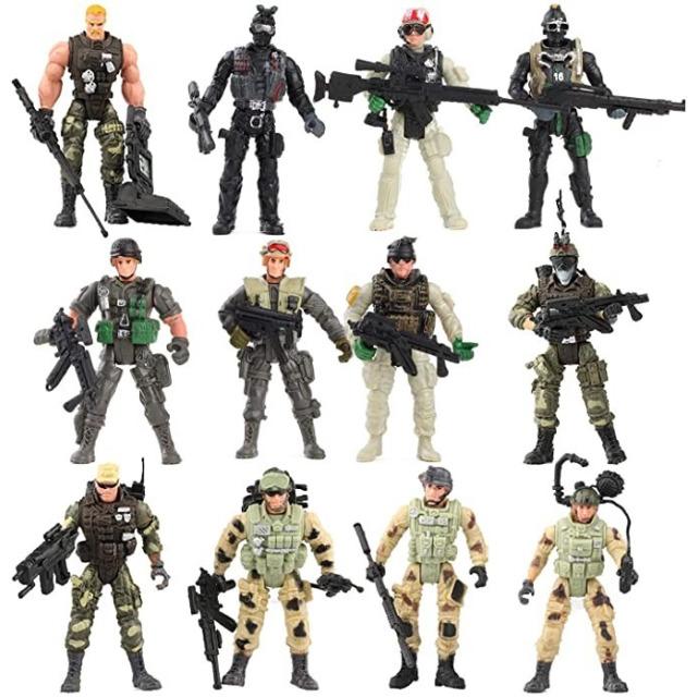 Obrázek produktu ARMY Special Force Voják se zbraní 11cm