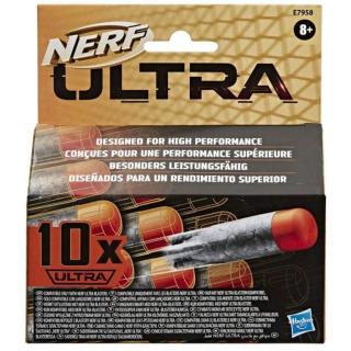 Obrázek 1 produktu NERF ULTRA náhradní šipky 10ks, Hasbro E7958